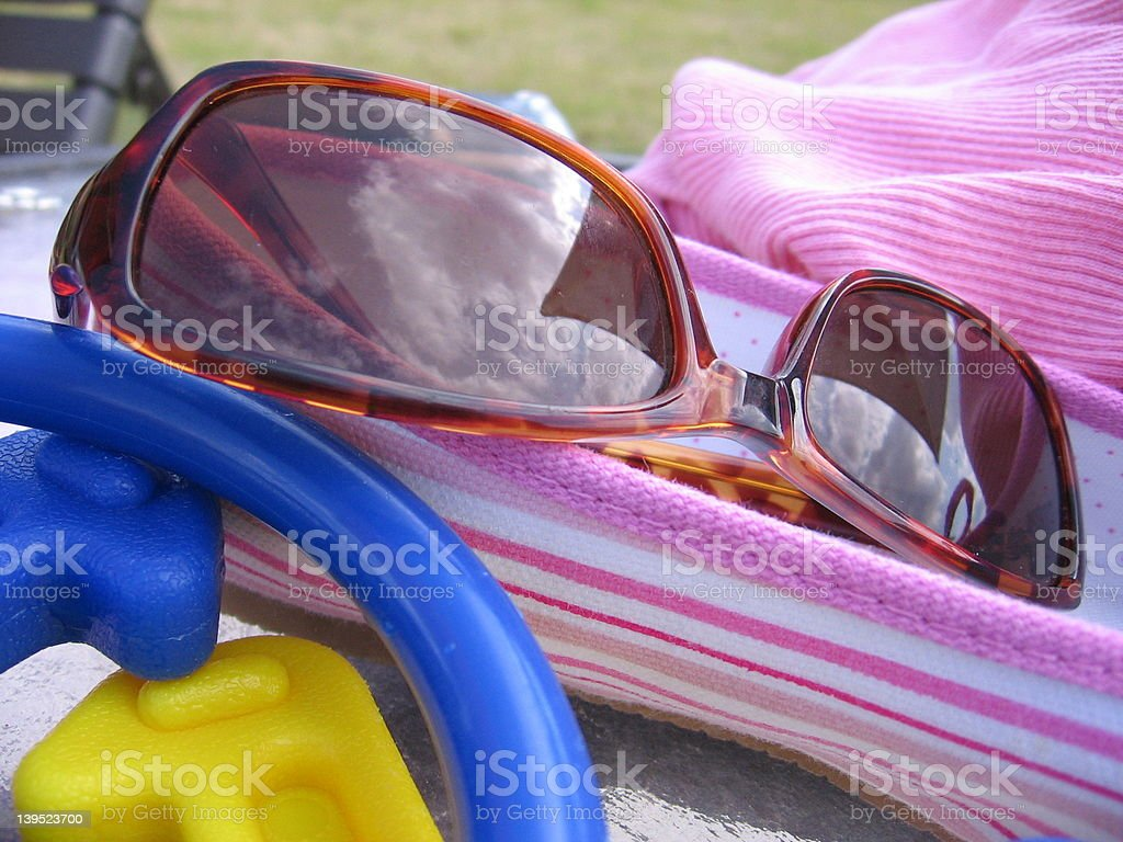 pool necessities royalty-free stock photo