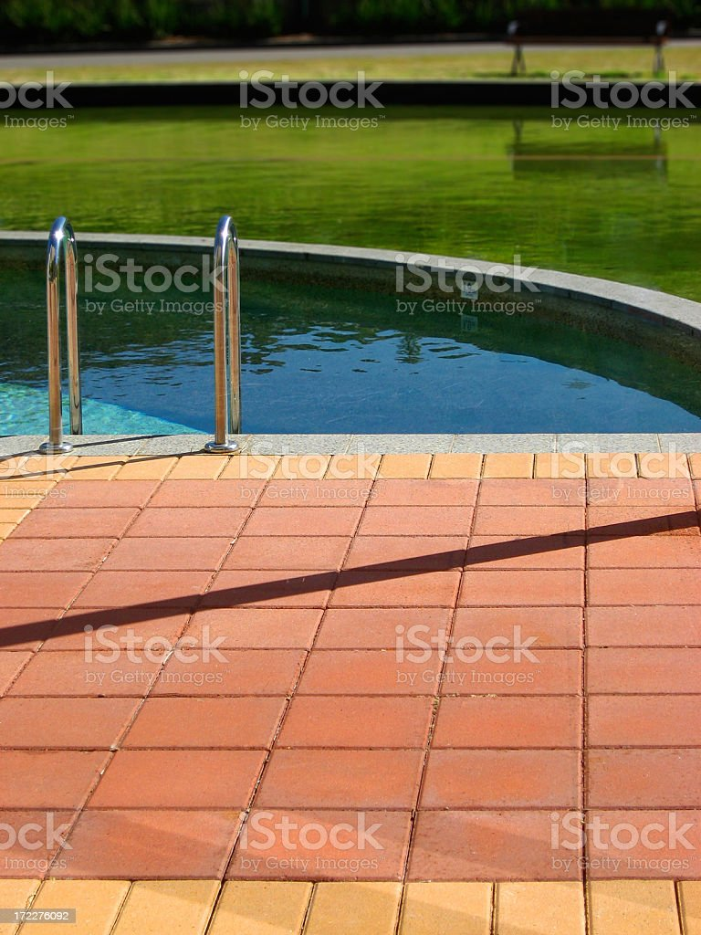 Pool of Colour royalty-free stock photo