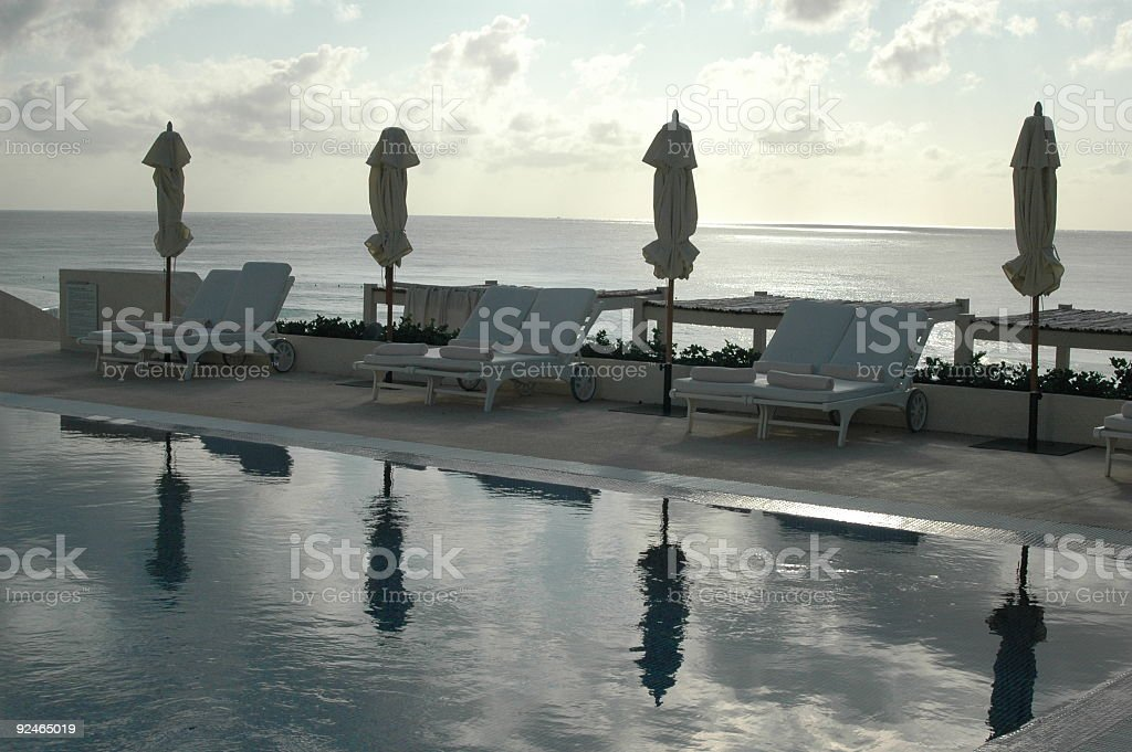 Pool on the Coast royalty-free stock photo