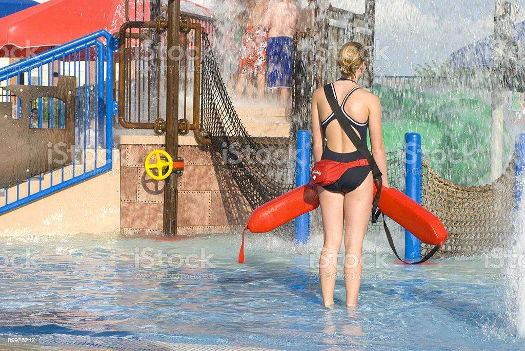 Pool Playground stock photo