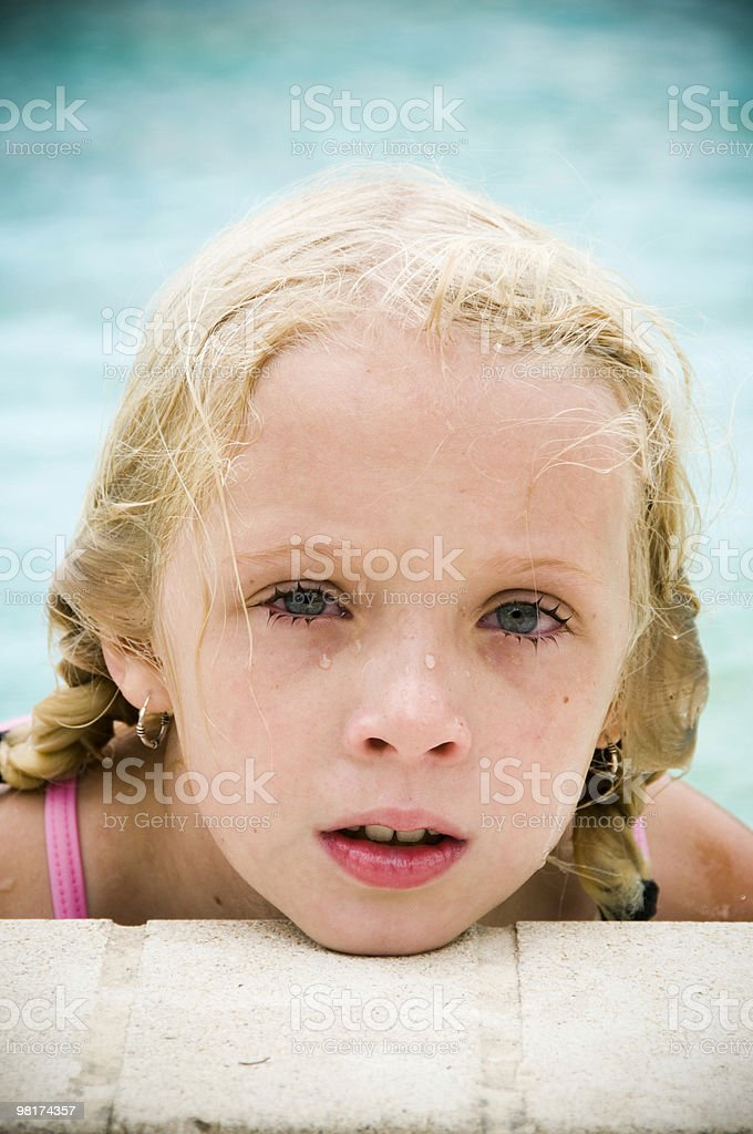 pool portrait stock photo