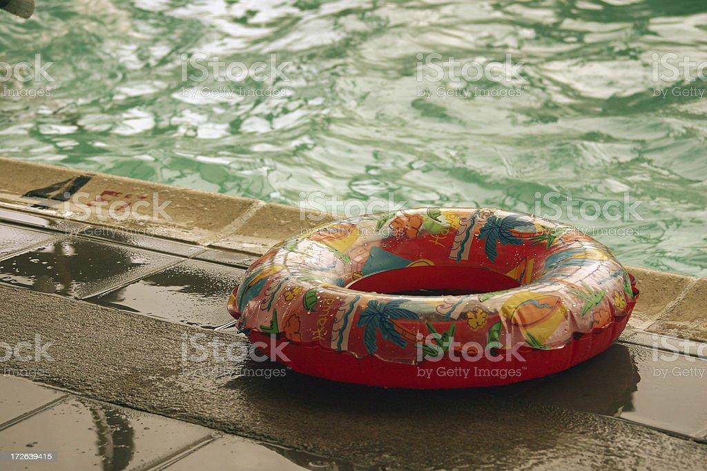 Pool Ring royalty-free stock photo
