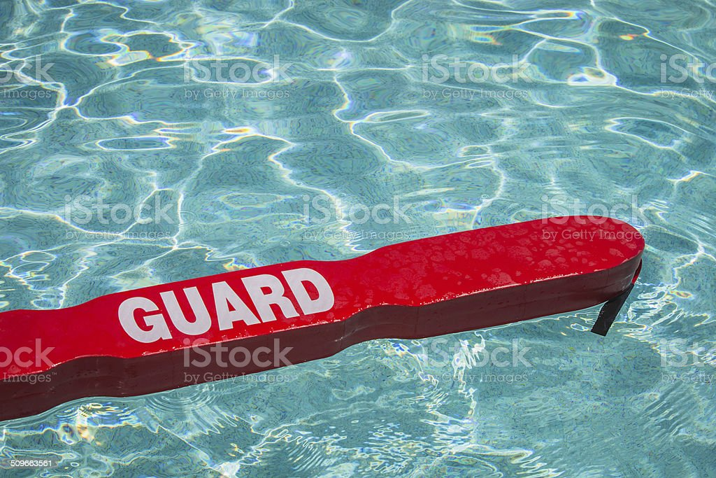 Pool Safe stock photo