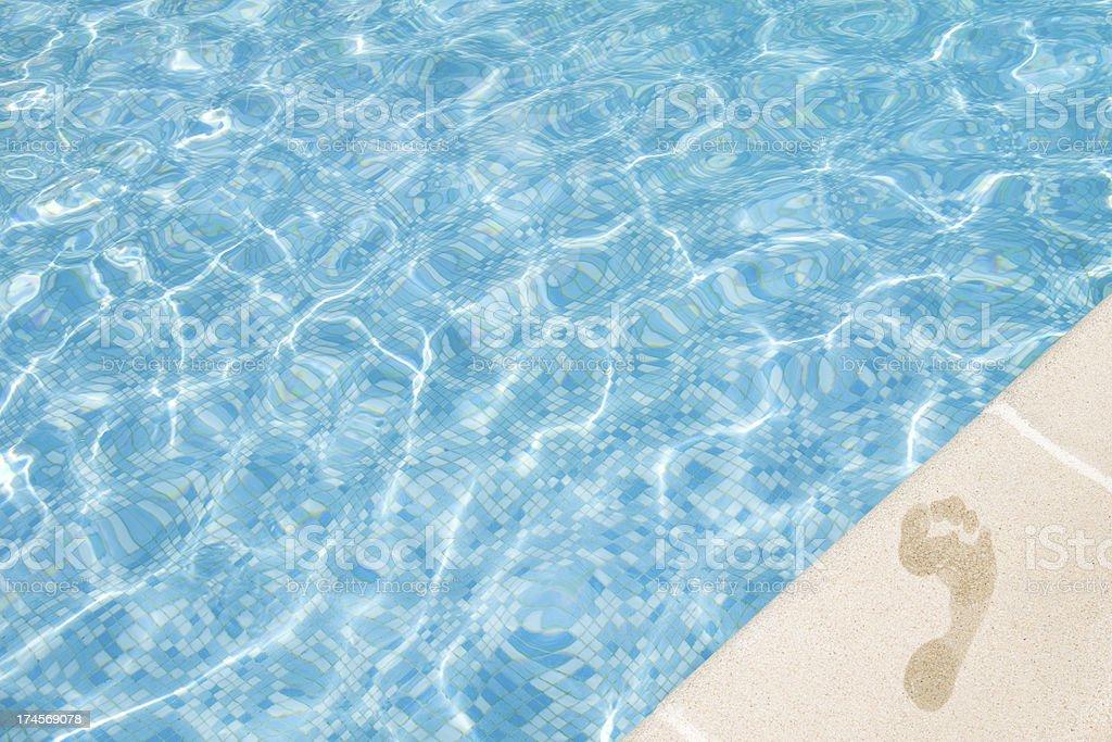 pool shore royalty-free stock photo