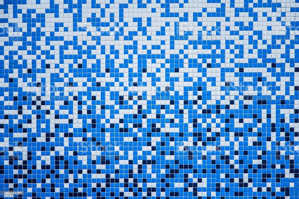 Pool tiles stock photo