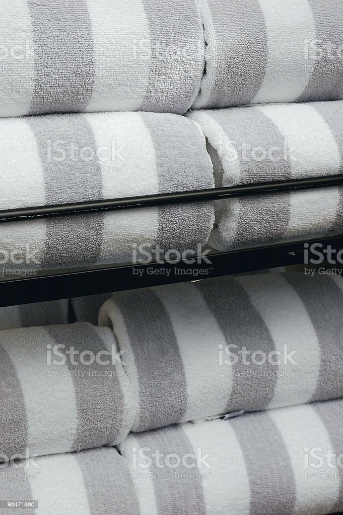 Pool Towels royalty-free stock photo