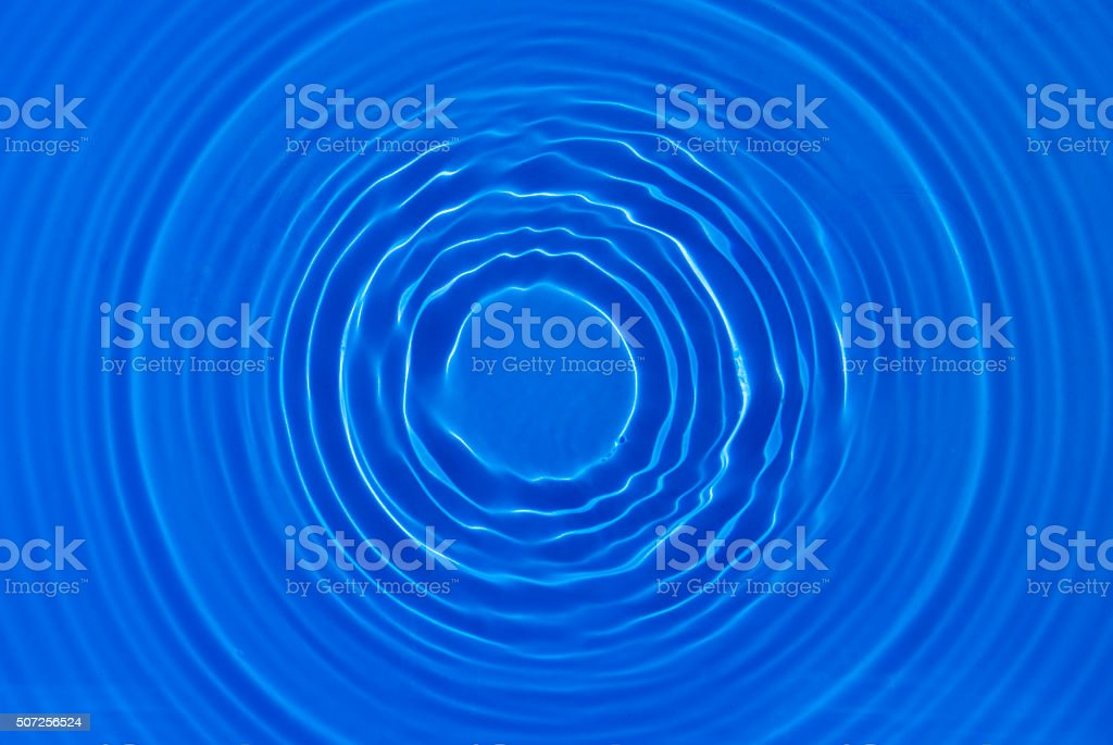 Pool water circle stock photo