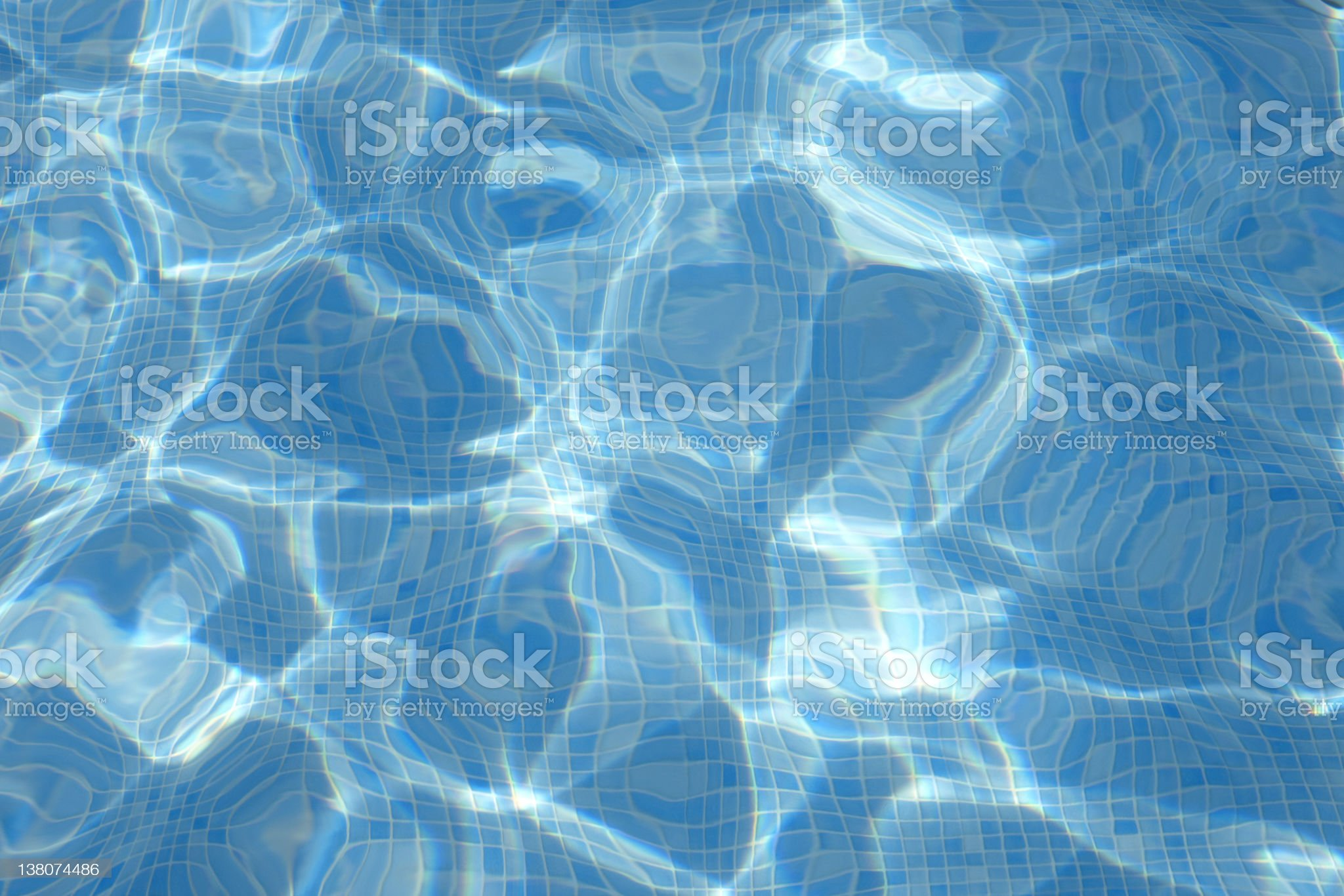 Pool Water royalty-free stock photo