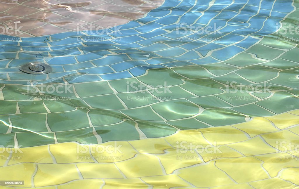 Pool Water Reflection 3 stock photo
