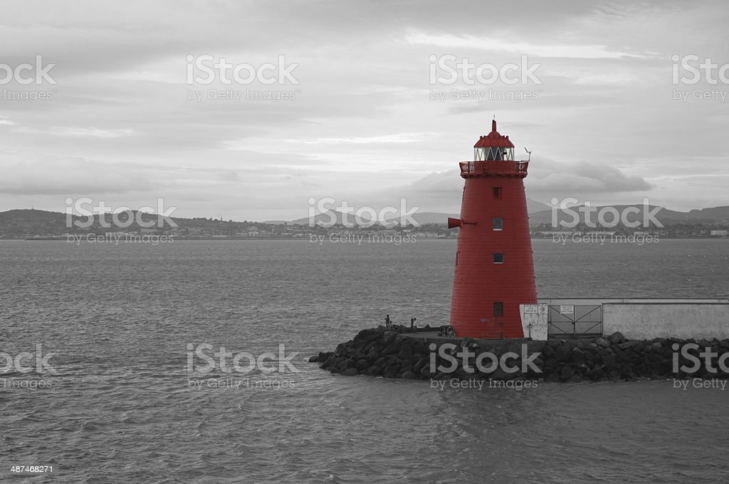 Poolbeg Lighthouse stock photo