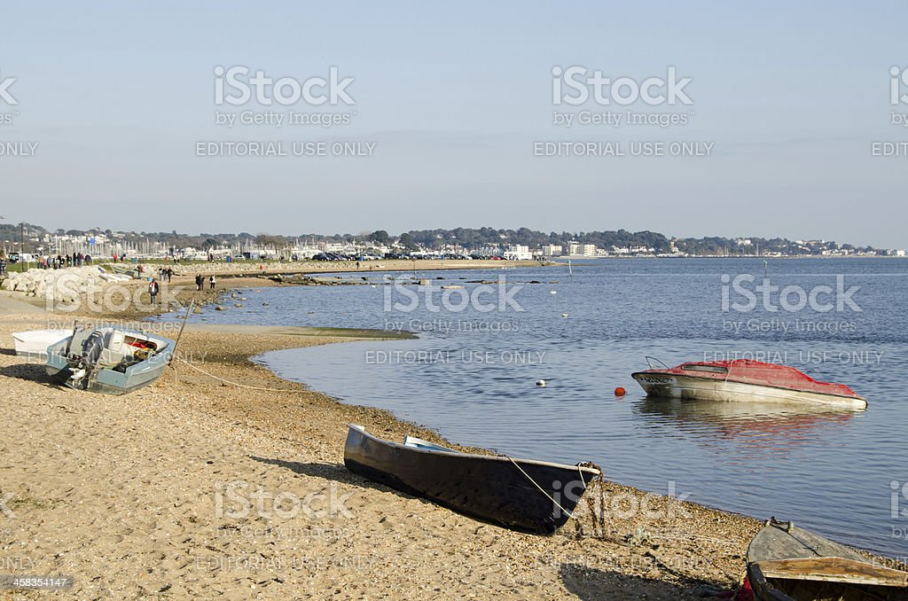 Poole Harbour, Dorset royalty-free stock photo