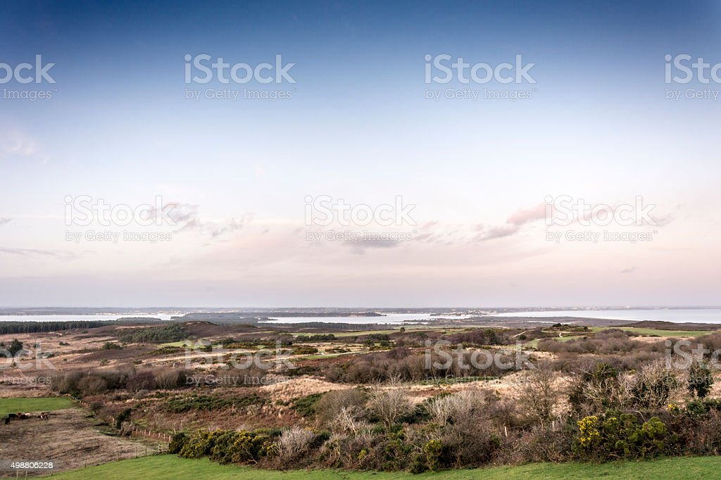 Poole Harbour stock photo