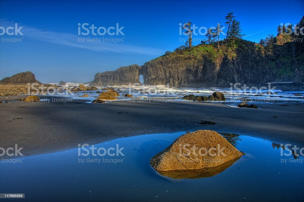 Pools of Beauty :: Second Beach, La Push, Washington State stock photo