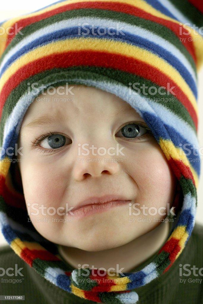 Poor Baby Series: Neglected. stock photo
