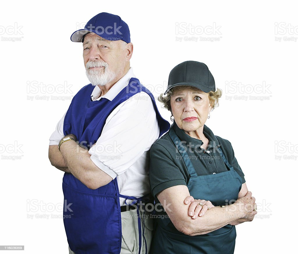 Poor Retirement Planning royalty-free stock photo