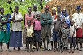 Poor sudanese family