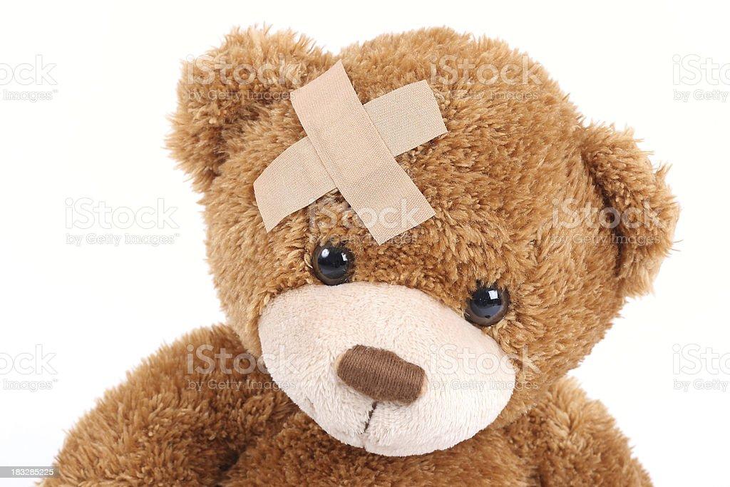 Poorly Bear stock photo