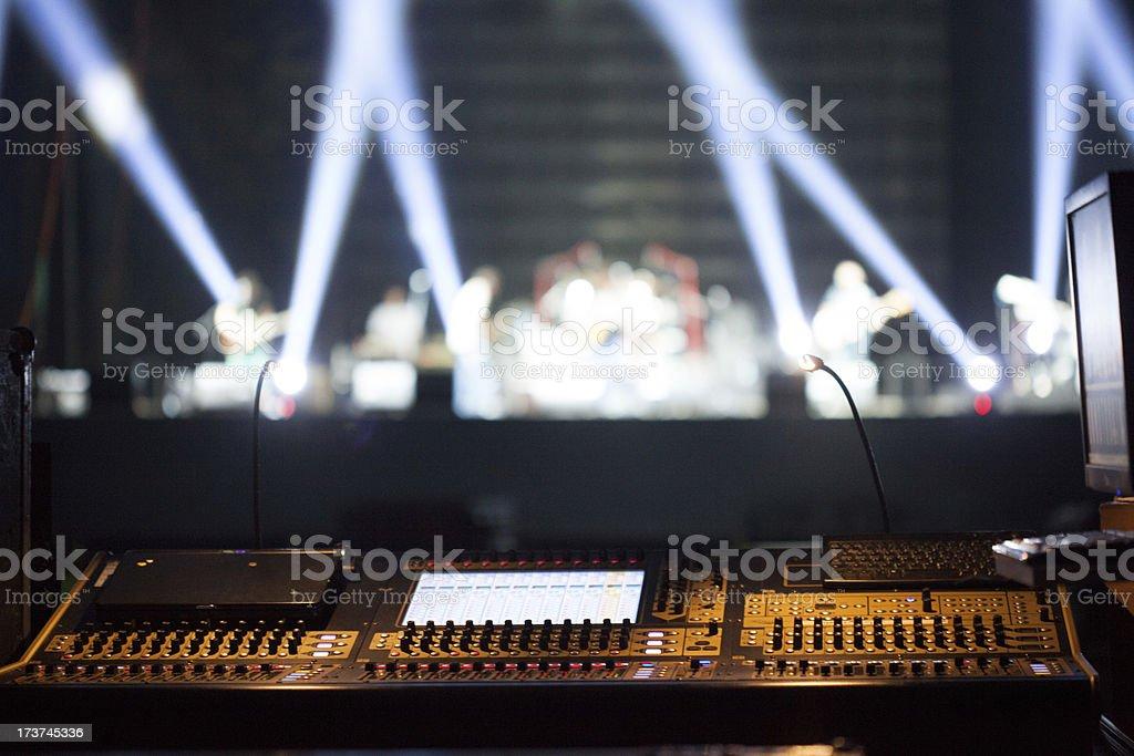 Pop Concert stock photo