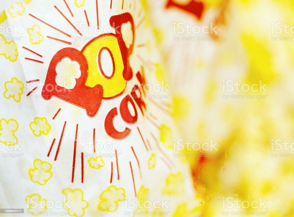 Pop Corn Bag stock photo