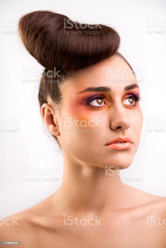 Pop girl royalty-free stock photo
