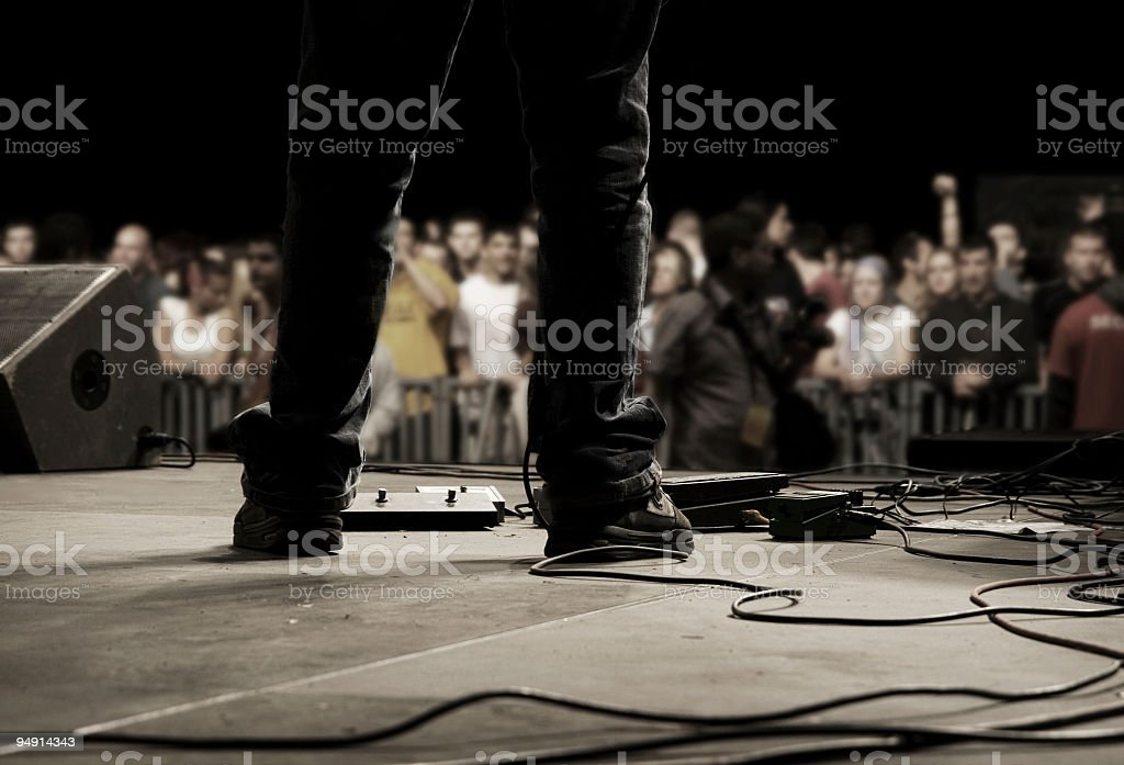 Pop Music royalty-free stock photo
