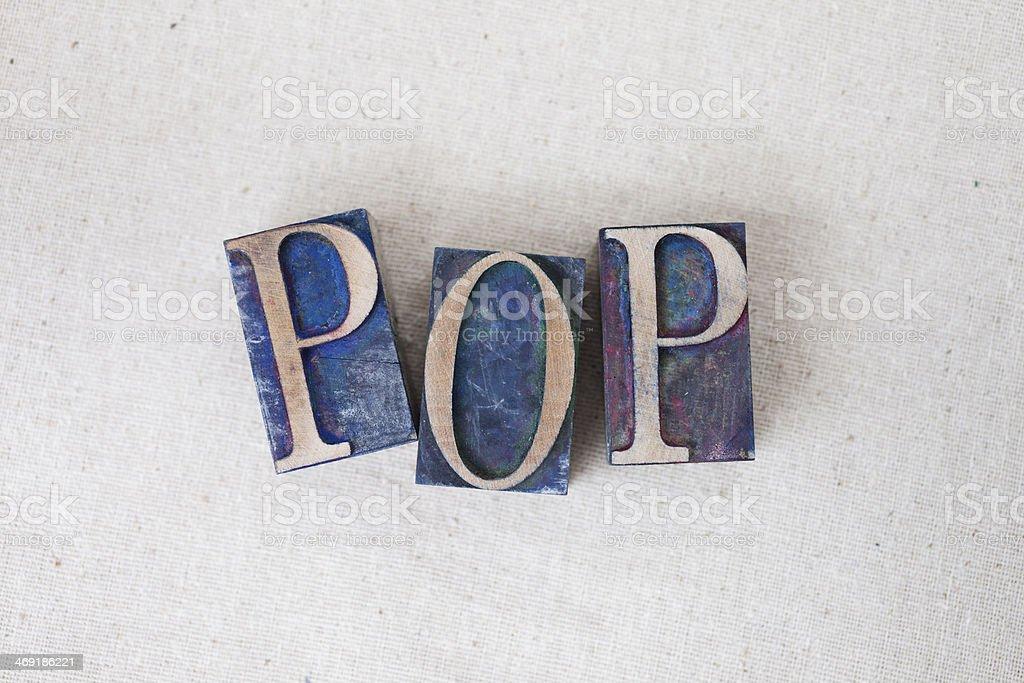 Pop royalty-free stock photo