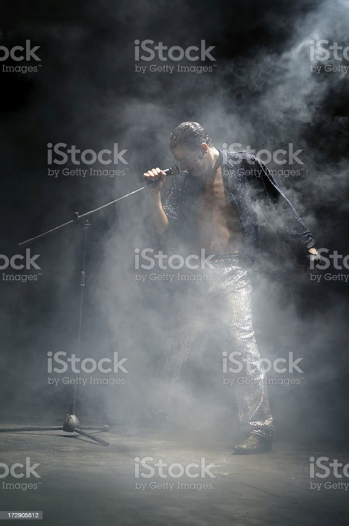 Popstar stock photo