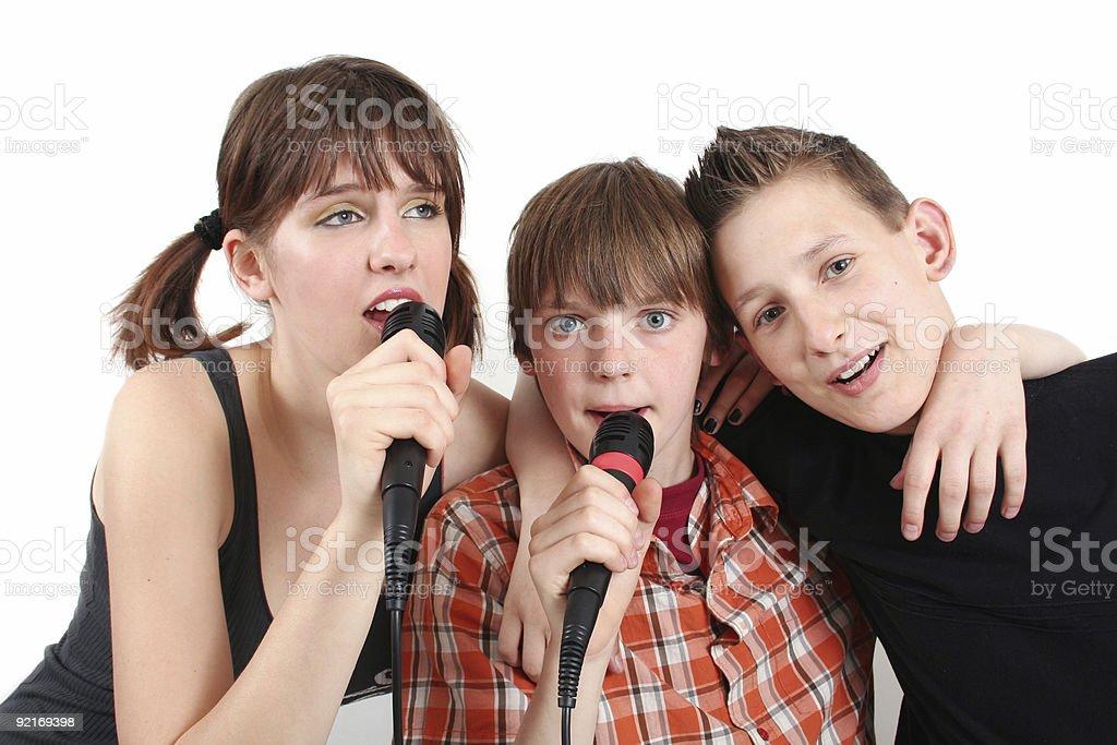 Pop trio royalty-free stock photo