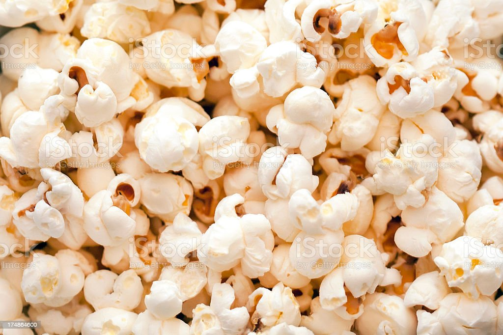 Popcorn background royalty-free stock photo