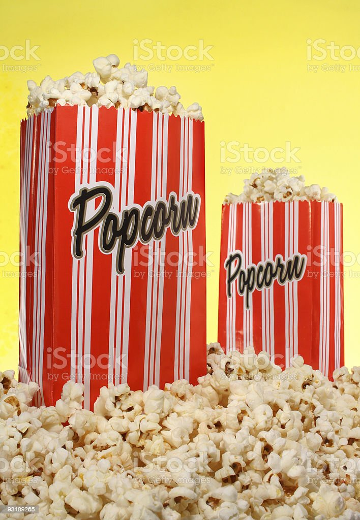 Popcorn Bags royalty-free stock photo