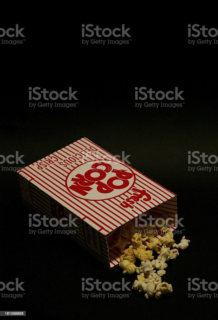 Popcorn Box 3 royalty-free stock photo