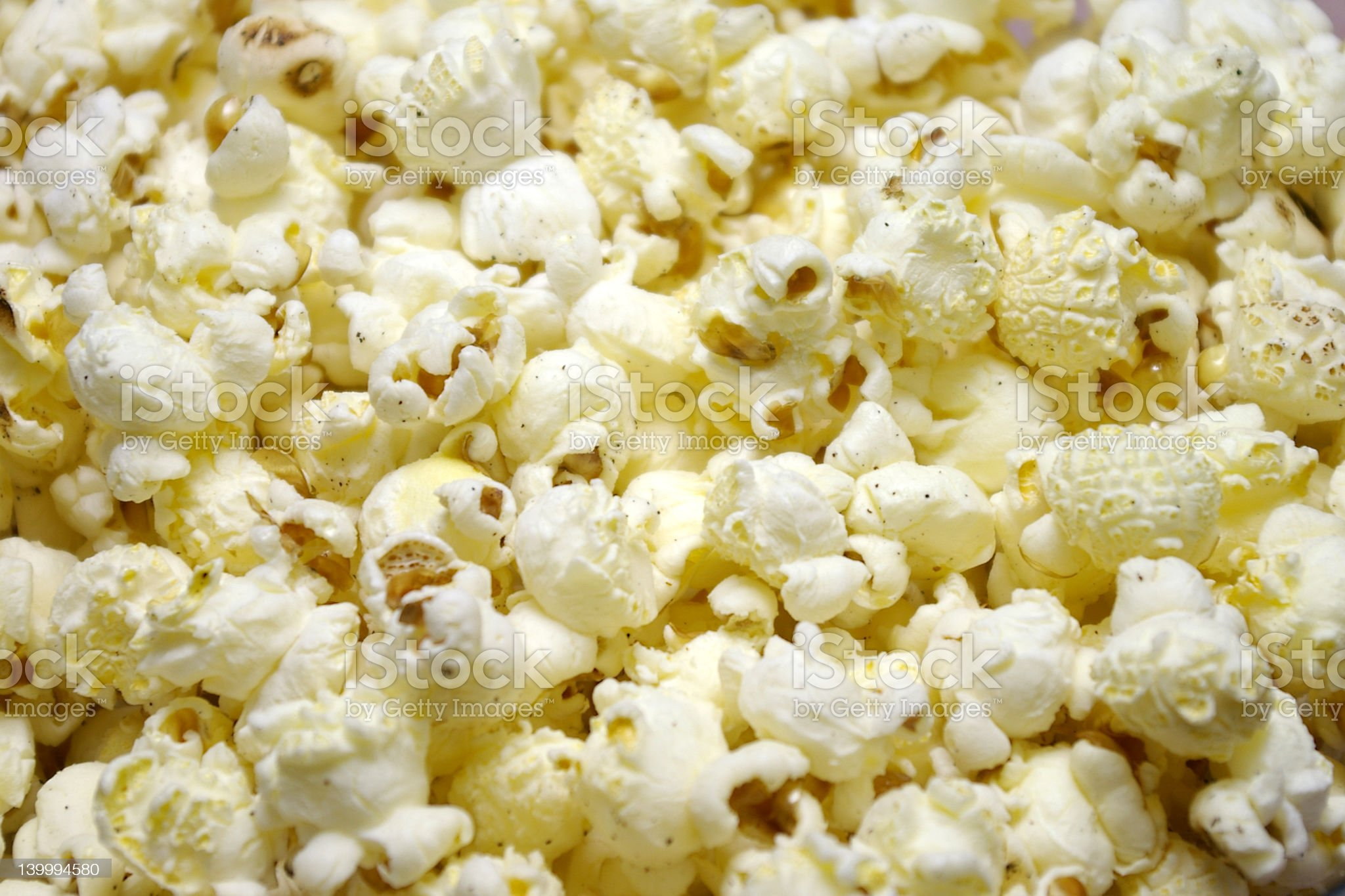 Popcorn Closeup royalty-free stock photo