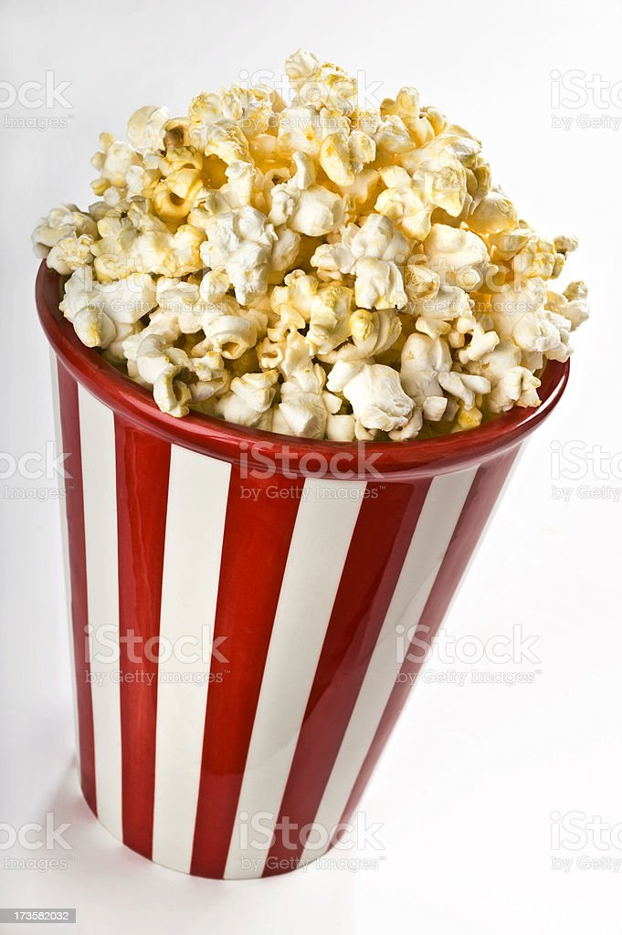 Popcorn In A Cup royalty-free stock photo