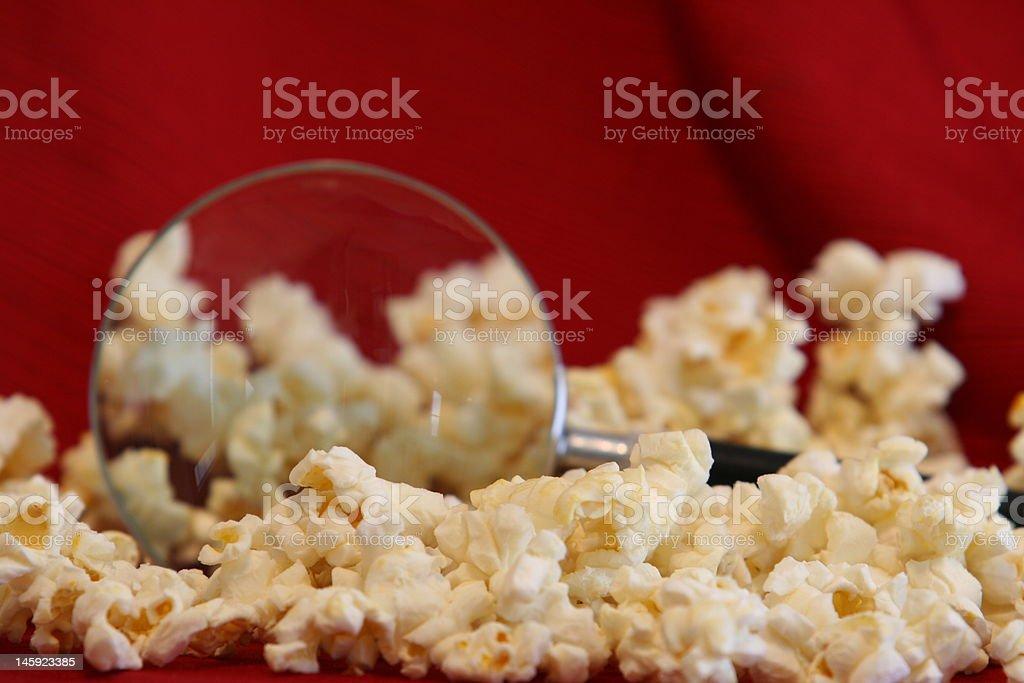 Popcorn Inspected royalty-free stock photo