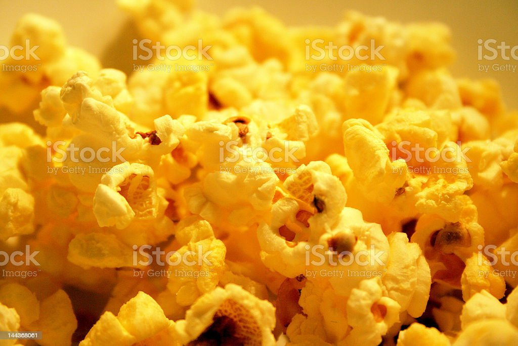 Popcorn landscape royalty-free stock photo
