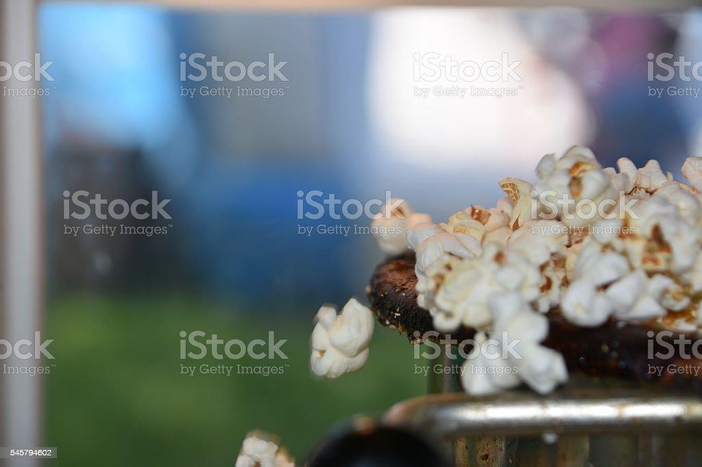 Popcorn Ready to Eat stock photo