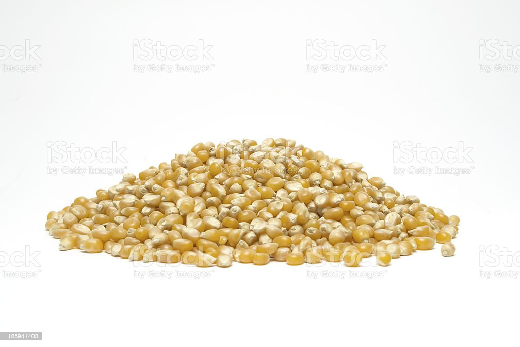 Popcorn seeds royalty-free stock photo