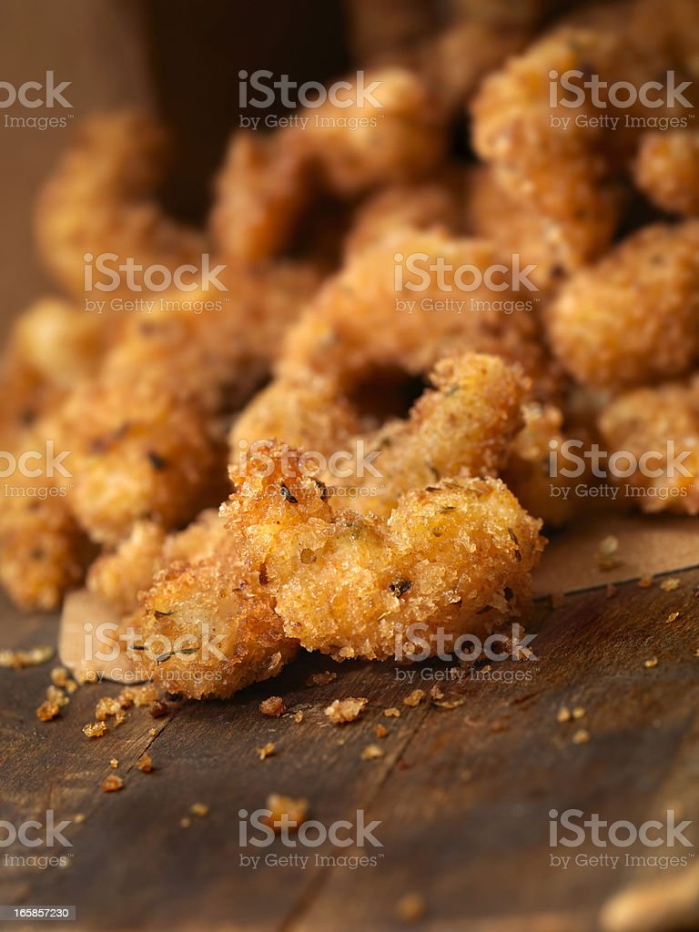 PopCorn Shrimp royalty-free stock photo