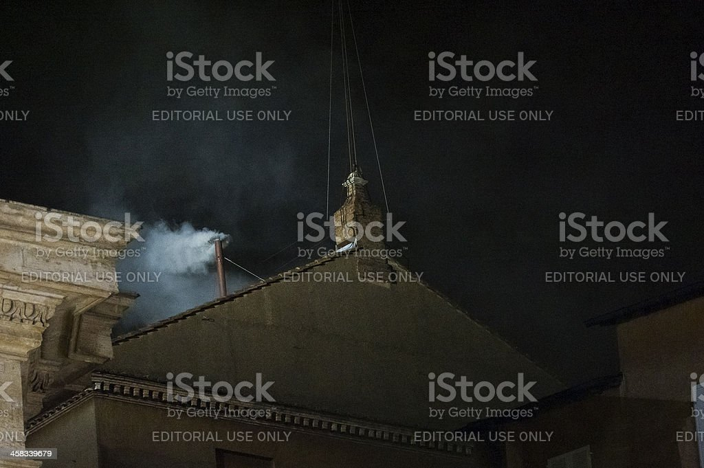 Pope Conclave's stock photo