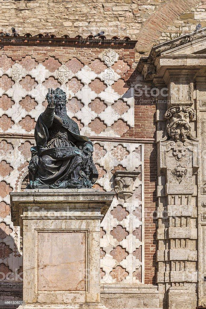 Pope Julius III, Perugia stock photo