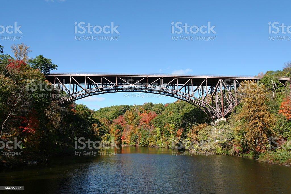 Popolopen Bridge royalty-free stock photo