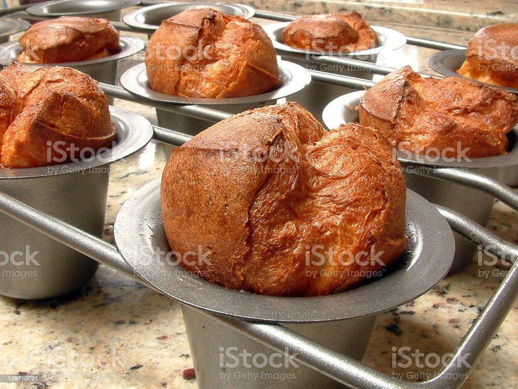 Popovers stock photo