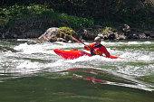 Popular kayaking on the Dunajec.