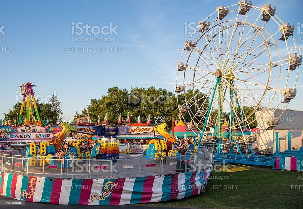 Popular Rides stock photo