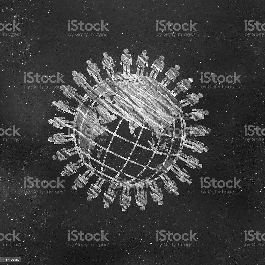 Population Concept stock photo