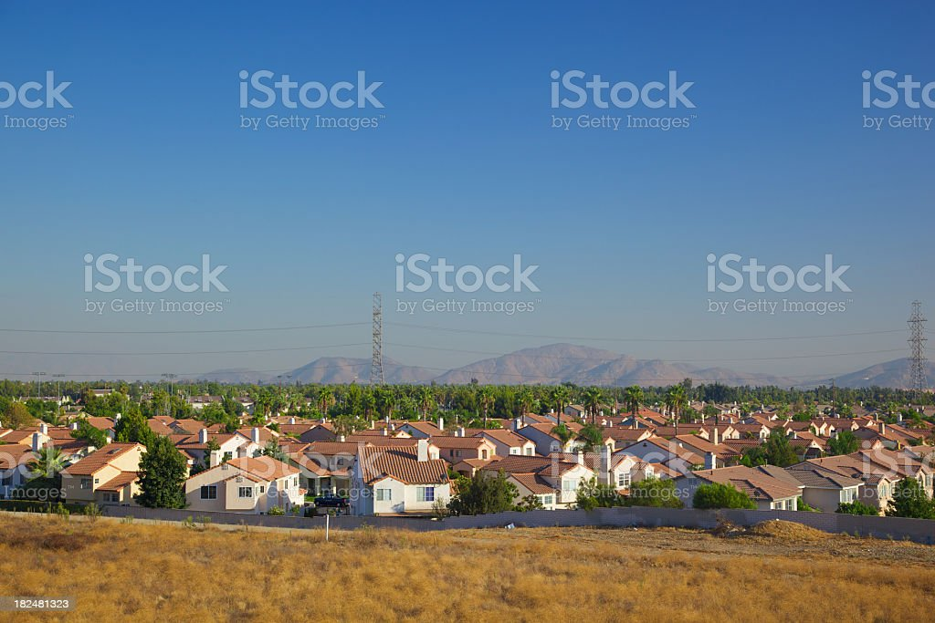 Population Growth in California stock photo
