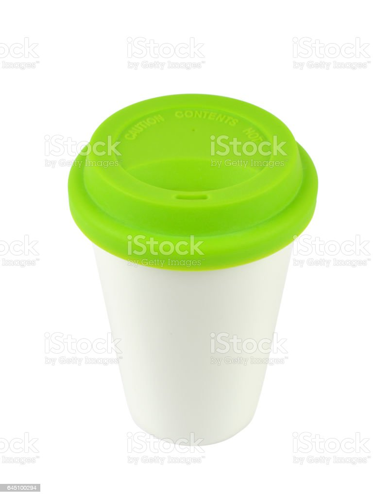 Porcelain Container with a Lid stock photo