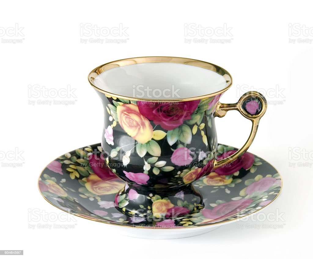 Porcelain cup royalty-free stock photo