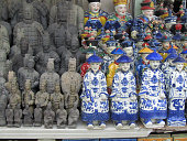 Porcelain Figurines in Shanghai Antiques Market