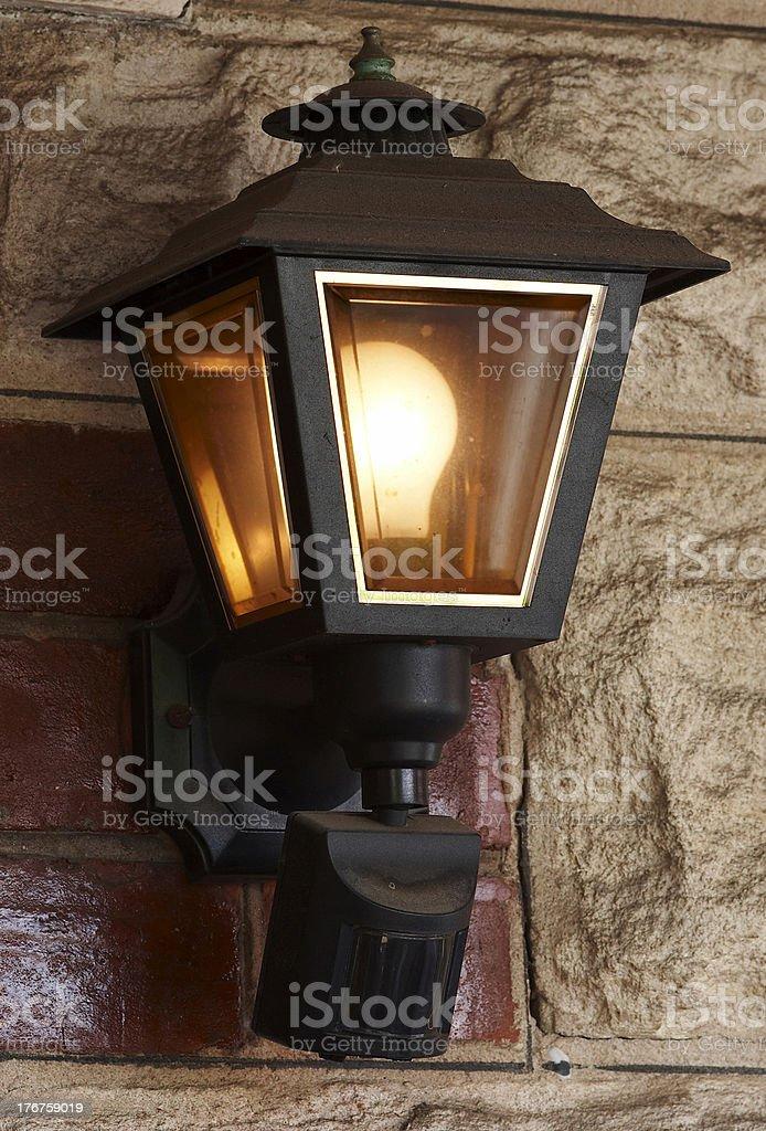 Porch Light royalty-free stock photo